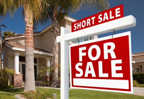 Florida home short sale sign