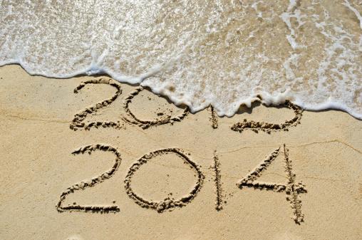 2013 ends 2014 begins